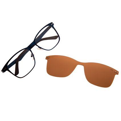 Armação Para Óculos De Grau Masculino Chilli Beans Multi Azul LV.MU.0197-0208