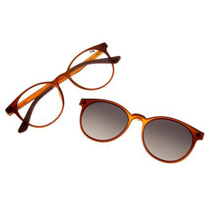 Armação Para Óculos De Grau Feminino Chilli Beans Multi Marrom Claro LV.MU.0214-2016