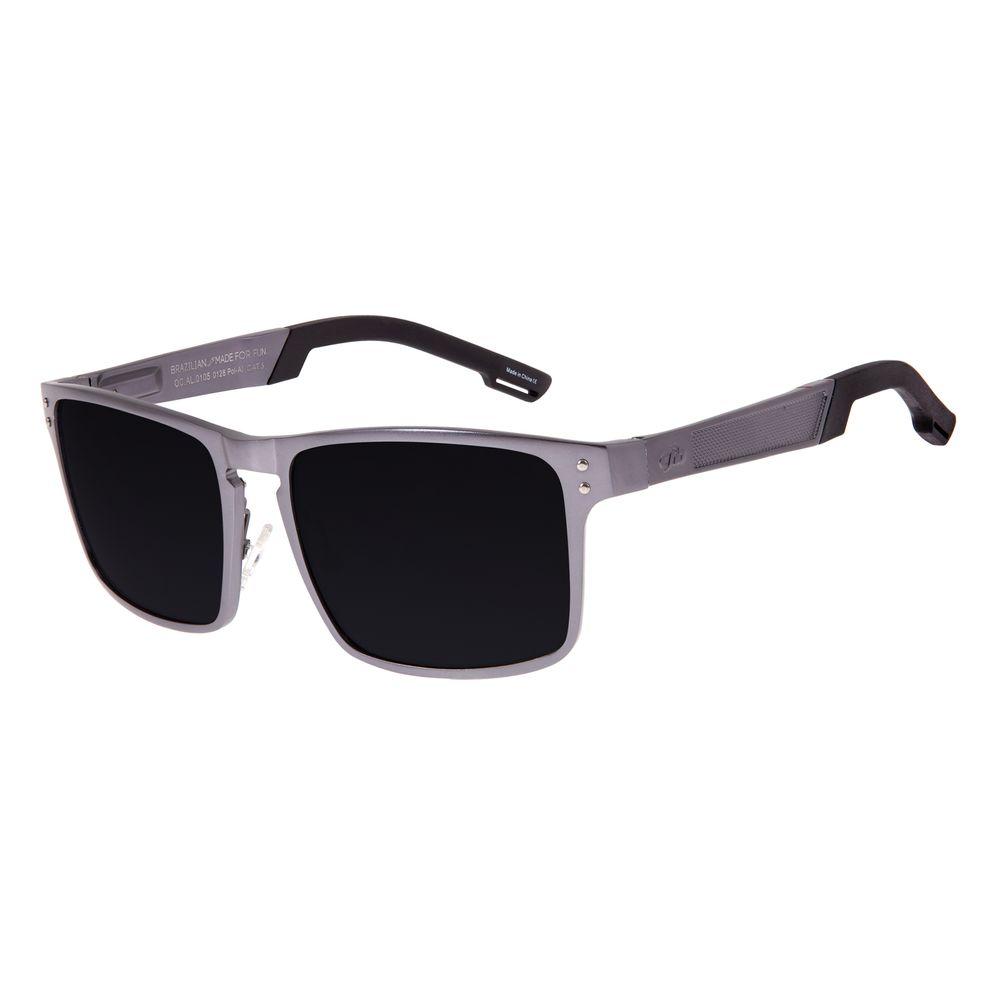 Óculos De Sol Masculino Chilli Beans Cinza Escuro OC.AL.0105-0128