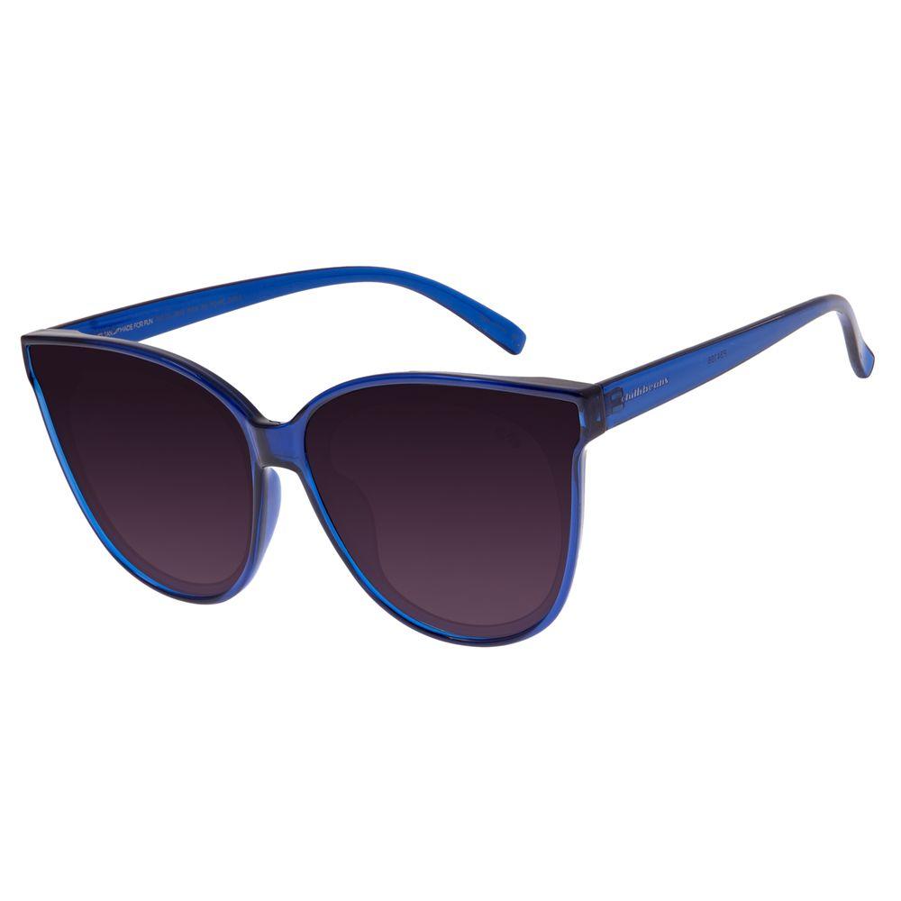 Óculos de Sol Feminino Chilli Beans Redondo Azul OC.CL.2538-2008
