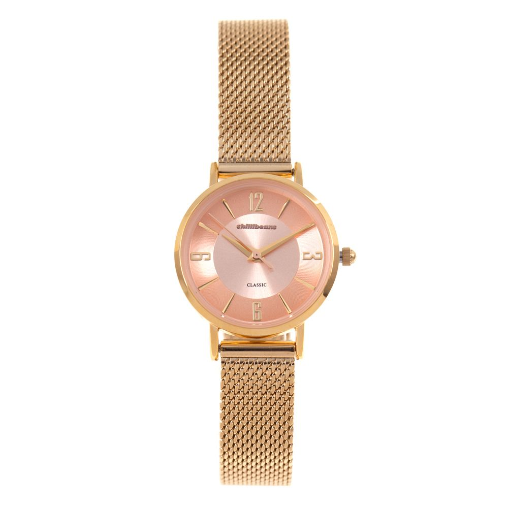 Relógio Analógico Feminino Chilli Beans Metal Dourado RE.MT.0906-0221.1