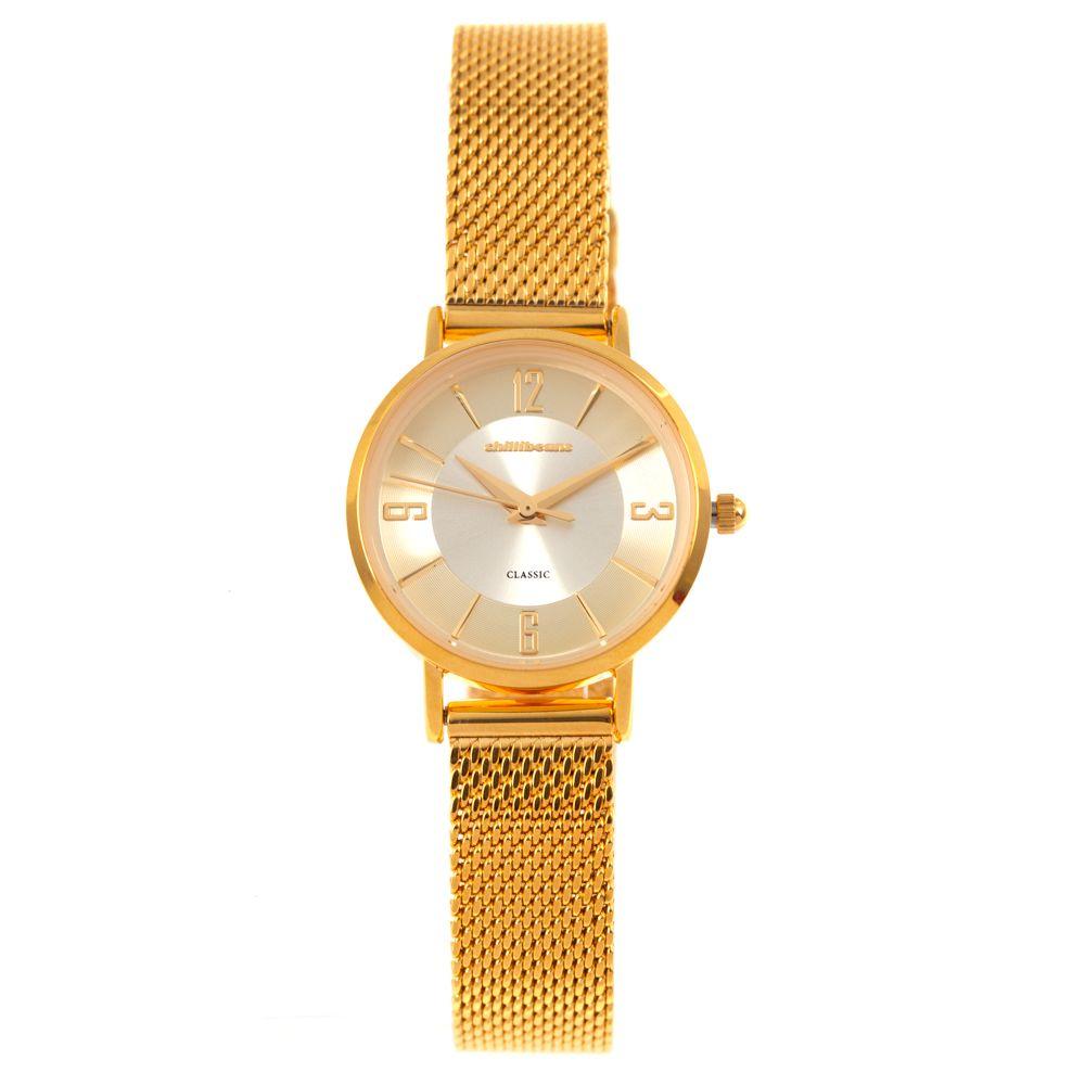 Relógio Analógico Feminino Chilli Beans Metal Dourado RE.MT.0906-2121.1