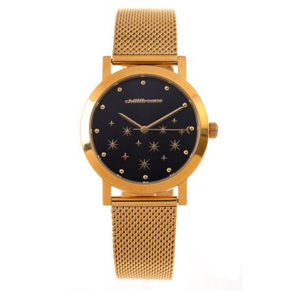 Relógio Analógico Feminino Chilli Beans Metal Dourado RE.MT.0921-0121.1