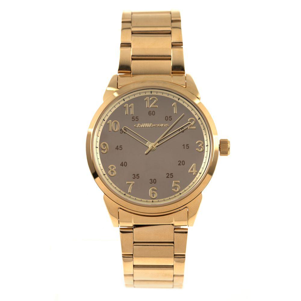 Relógio Analógico Feminino Chilli Beans Metal Dourado RE.MT.0840.2121 RE.MT.0840-2121
