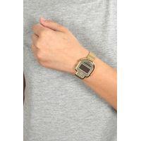 Relógio Digital Feminino Chilli Beans Caveira Dourado RE.MT.0961-2121.4