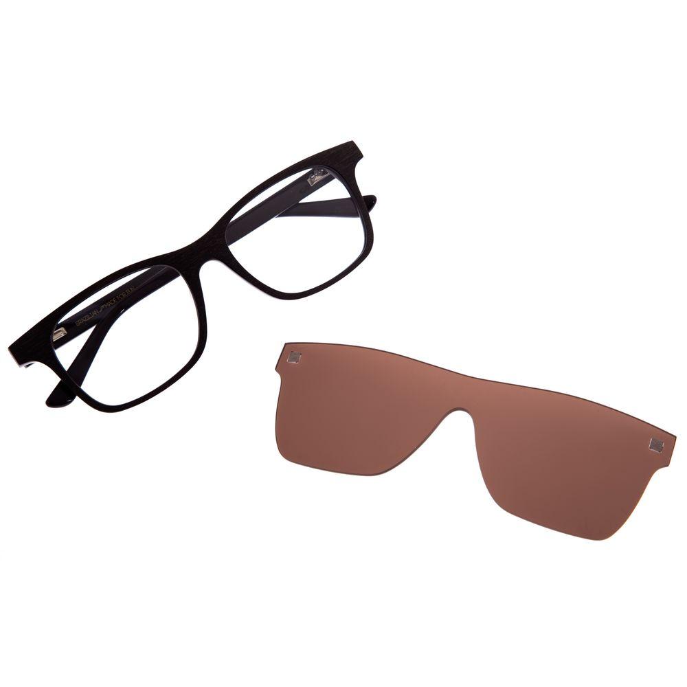 Armação Para Óculos De Grau Masculino Multi Marrom LV.MU.0242-0202
