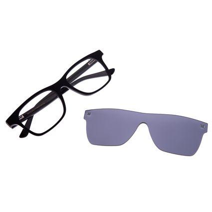 Armação Para Óculos De Grau Masculino Multi Preto LV.MU.0242-0401