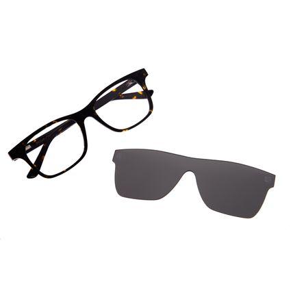 Armação Para Óculos De Grau Masculino Multi Tartaruga LV.MU.0242-1506