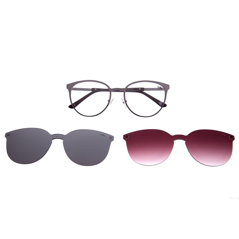 Armação Para Óculos De Grau Feminino Multi Verde LV.MU.0271-1515