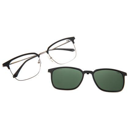 Armação Para Óculos De Grau Masculino Multi Marrom LV.MU.0287-1502