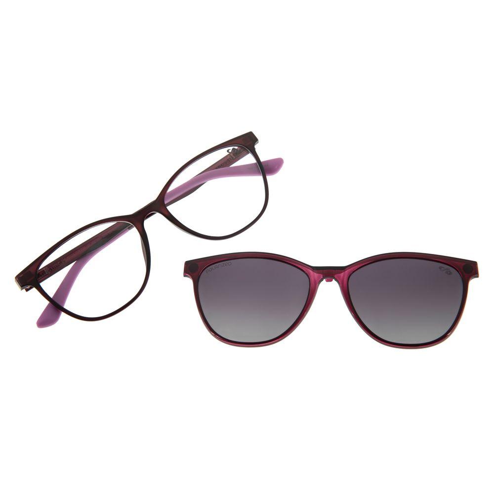 Armação Para Óculos De Grau Feminino Multi Roxo  LV.MU.0231-2014