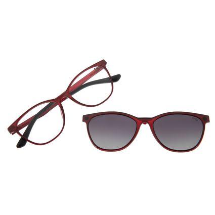 Armação Para Óculos De Grau Feminino Multi Vinho  LV.MU.0231-2017