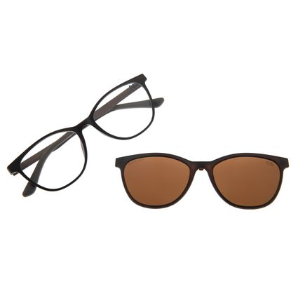 Armação Para Óculos De Grau Feminino Multi Marrom LV.MU.0231-0202