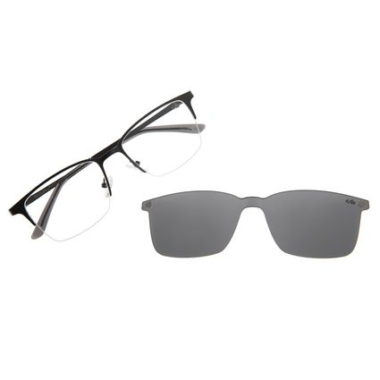 Armação Para Óculos De Grau Masculino Multi Preto LV.MU.0291-0101