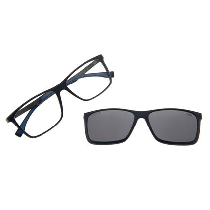 Armação Para Óculos De Grau Masculino Multi Azul Escuro LV.MU.0293-0490
