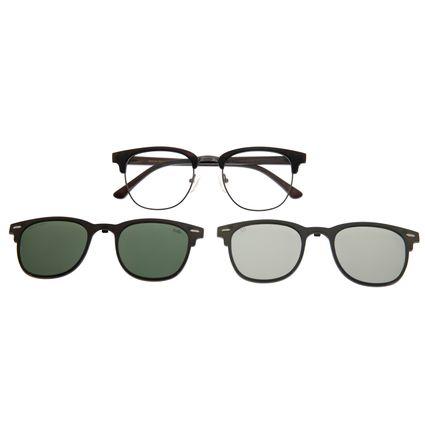 Armação Para Óculos De Grau Unissex Multi 3D Marrom LV.MU.0295-0202