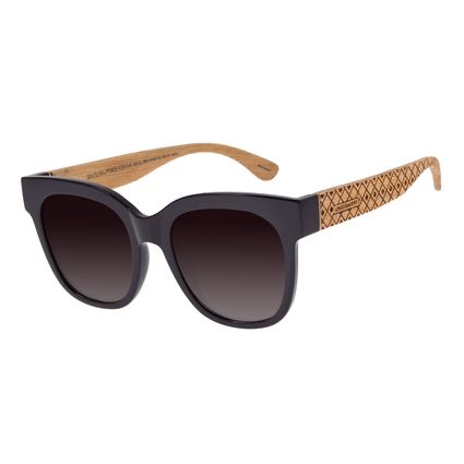 Óculos De Sol Feminino Chilli Beans Quadrado Marrom OC.CL.2804-5702