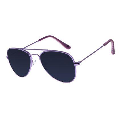 Óculos De Sol Infantil Chilli Beans Aviador Roxo OC.KD.0586-0114
