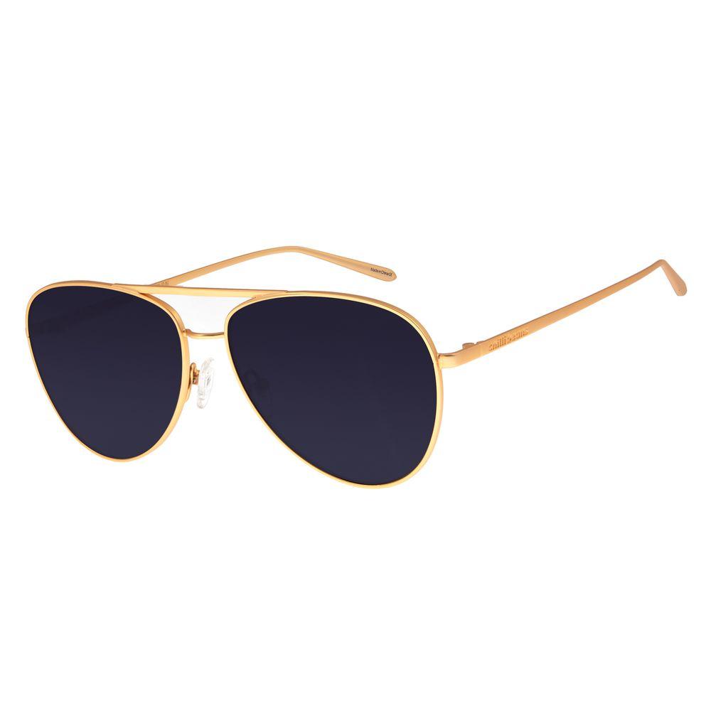 Óculos De Sol Feminino Chilli Beans Aviador Dourado OC.MT.2683-0121