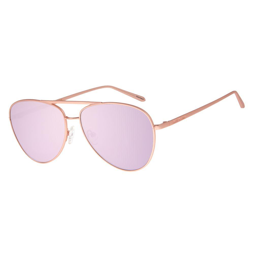 Óculos De Sol Feminino Chilli Beans Aviador RosêOC.MT.2683-5795