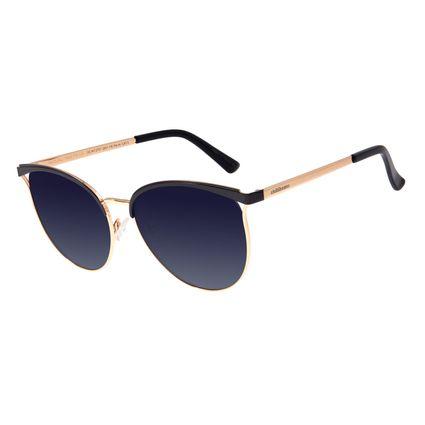 Óculos De Sol Feminino Chilli Beans Redondo Dourado OC.MT.2707-2021