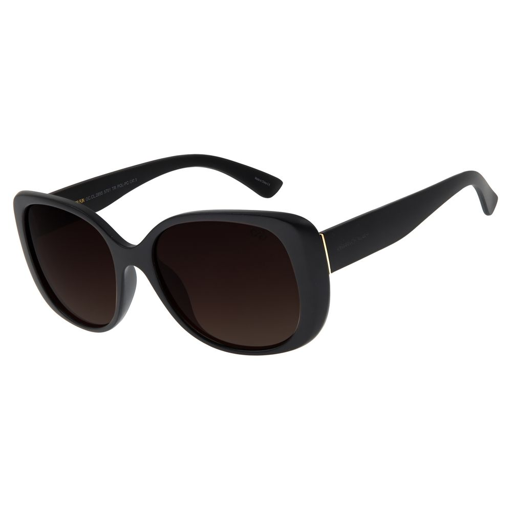 Óculos de Sol Feminino Chilli Beans Quadrado Degradê Marrom OC.CL.2855-5701