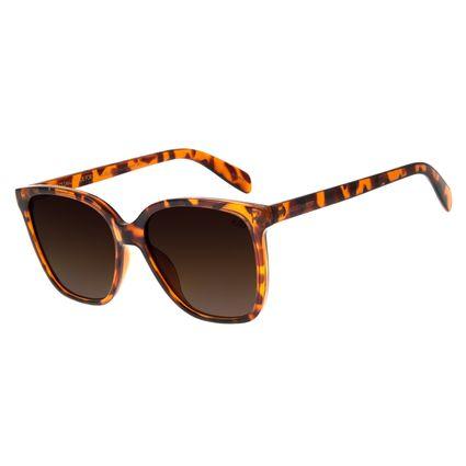 Óculos de Sol Feminino Chilli Beans Quadrado Tartaruga  OC.CL.2871-5706