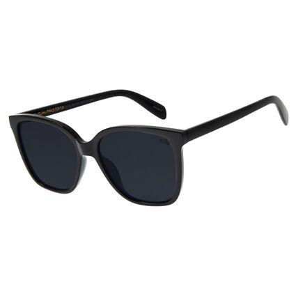 Óculos de Sol Feminino Chilli Beans Quadrado Preto OC.CL.2871-0101