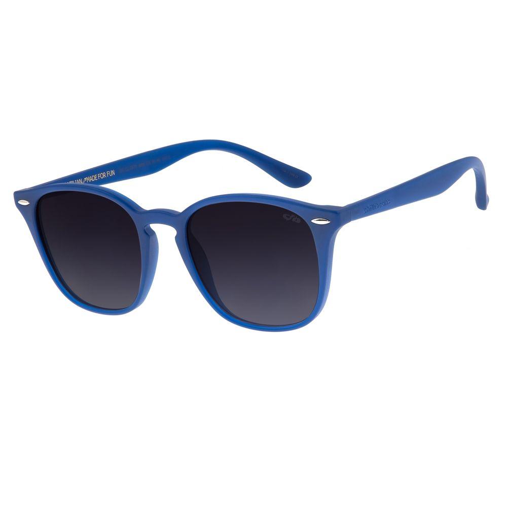 Óculos de Sol Unissex Chilli Beans Quadrado Azul OC.CL.2876-2008