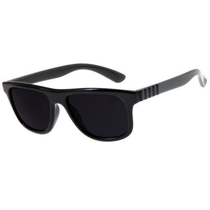 Óculos de Sol Infantil Chilli Beans Quadrado Preto  OC.KD.0610-0101