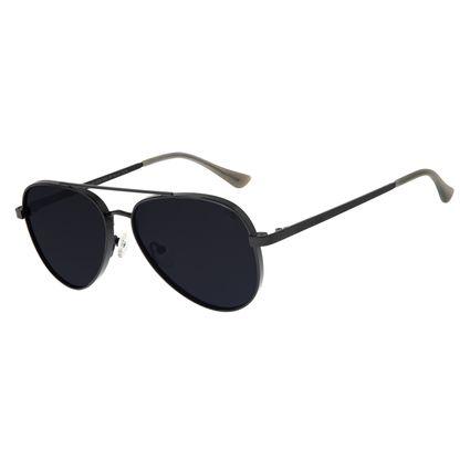 Óculos de Sol Unissex Chilli Beans Aviador Preto OC.MT.2678-0101