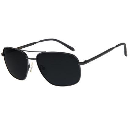 Óculos De Sol Masculino Chilli Beans Executivo Preto OC.MT.2703-0401