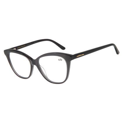 Armação Para Óculos De Grau Feminino Cat Preto LV.AC.0523-0101