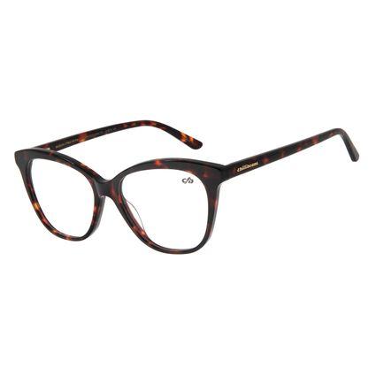 Armação Para Óculos De Grau Feminino Cat Tartaruga LV.AC.0523-0606