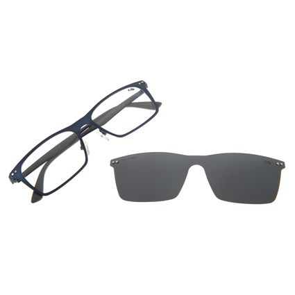 Armação Para Óculos De Grau Masculino Chilli Beans Multi Azul LV.MU.0292-0108