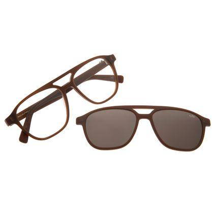 Armação Para Óculos De Grau Masculino Multi Chilli Beans Marrom LV.MU.0296-1502