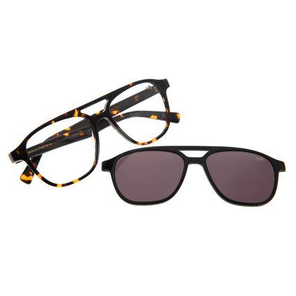 Armação Para Óculos De Grau Masculino Multi Chilli Beans Tartaruga LV.MU.0296-0406
