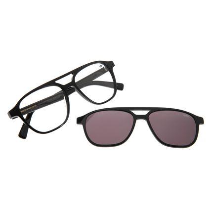 Armação Para Óculos De Grau Masculino Multi Preto LV.MU.0296-0401