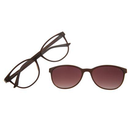 Armação Para Óculos De Grau Feminino Multi Chilli Beans Marrom .MU.0299-2002