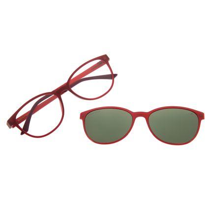 Armação Para Óculos De Grau Feminino Multi Chilli Beans Vinho LV.MU.0299-1517