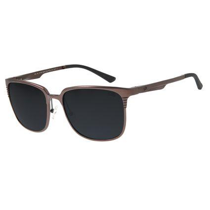 Óculos de Sol Masculino Chilli Beans Esportivo Marrom Escuro OC.AL.0109-0047