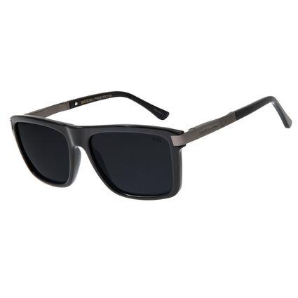 Óculos de Sol Unissex Chilli Beans Quadrado Polarizado Brilho OC.CL.2878-0530