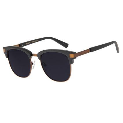 Óculos de Sol Unissex Chilli Beans Jazz Marrom Escuro OC.CL.2888-0547