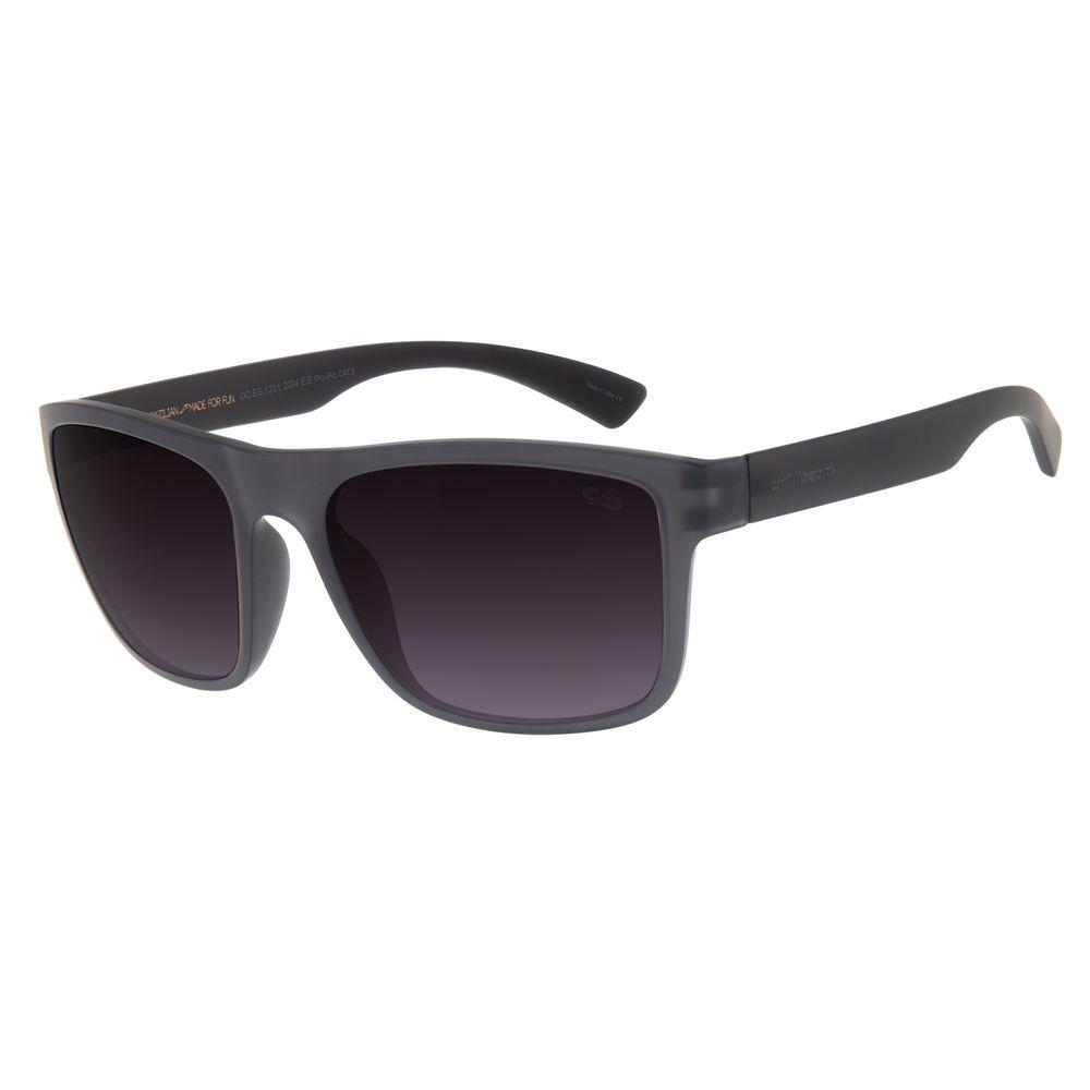 Óculos de Sol Masculino Chilli Beans Esportivo Cinza  OC.ES.1201-2004