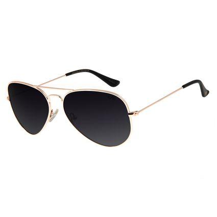 Óculos de Sol Chilli Beans Aviador Rosê Polarizado Unissex OC.MT.2514-2095
