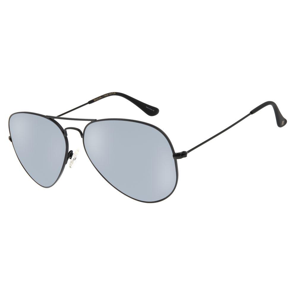Óculos de Sol Unissex Chilli Beans Aviador Polarizado Fosco OC.MT.2516-0031