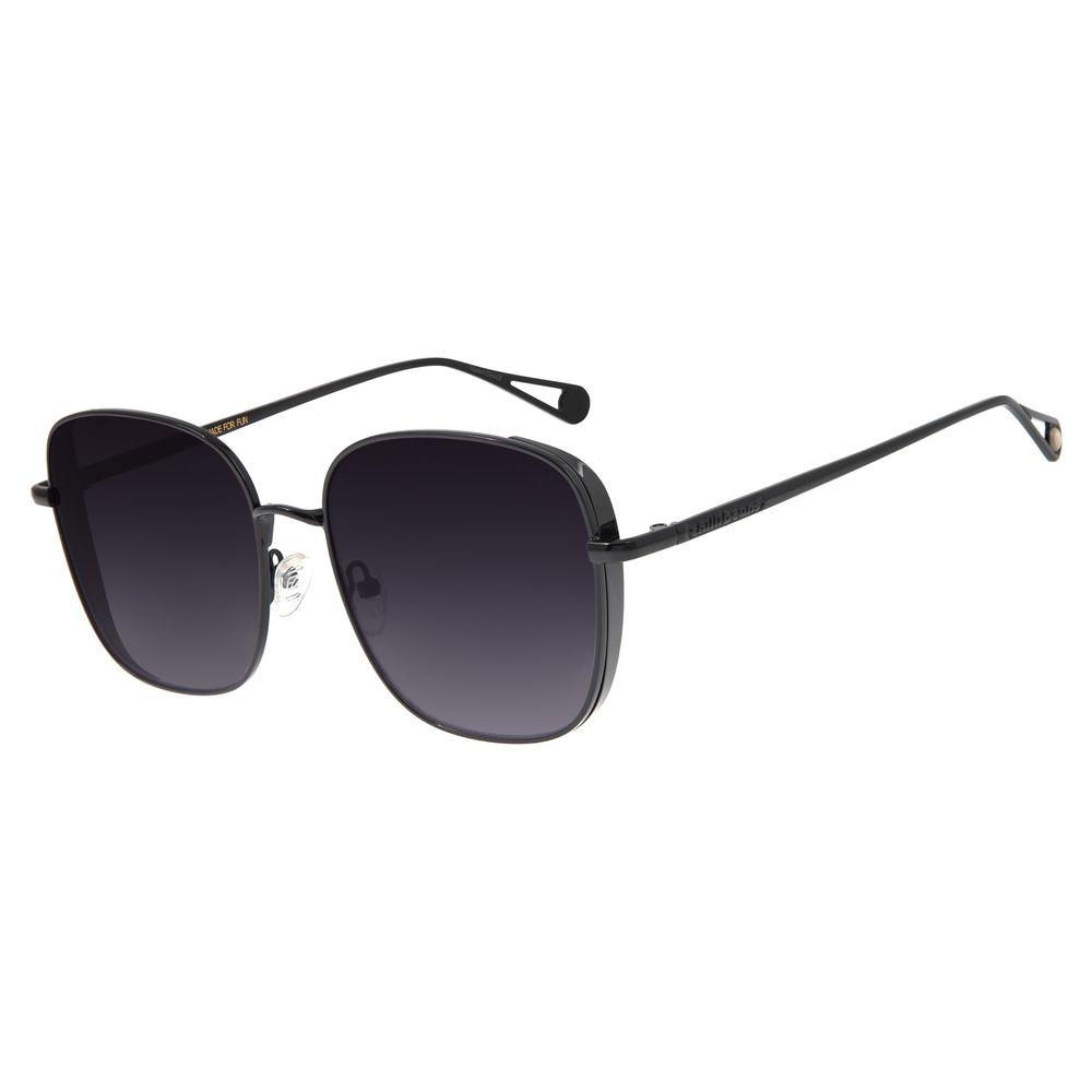 Óculos de Sol Feminino Chilli Beans Quadrado Preto OC.MT.2681-2001