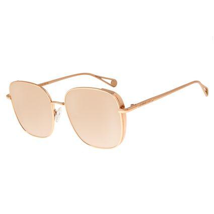Óculos de Sol Feminino Chilli Beans Quadrado Rosê OC.MT.2681-9595