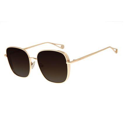Óculos de Sol Feminino Chilli Beans Quadrado Dourado OC.MT.2681-5721