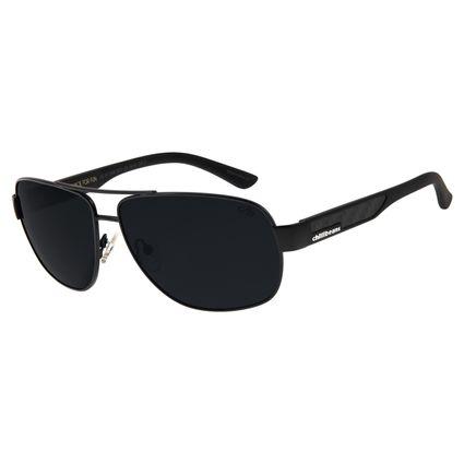 Óculos de Sol Masculino Chilli Beans Executivo Polarizado Cinza OC.MT.2699-0401
